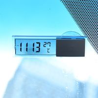 Auto-Fahrzeug-Armaturenbrett-Zeit-Uhr Thermometer Mit engebatet LCD-Anzeige