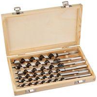 6 Tlg Set 230mm 6-20mm Schlangenbohrer Holzbohrer Holzschlangenbohrer Set Holz
