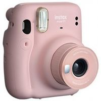 Fujifilm Instax Mini 11 Sofortbildkamera blush-pink Kamerablitz Fujinon-Objektiv