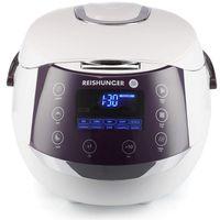 Reishunger Digitaler Reiskocher (860W/1,5l) für bis zu 8 Personen, Multikocher mit 12 Programmen, Timer- und Warmhaltefunktion