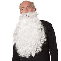 dressforfun Weihnachtsmann Perücke und Bart - weiß