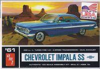 Chevrolet Impala SS 1961 Kunststoffbausatz Modellauto 1:25 AMT