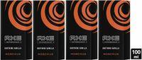AXE Aftershave Moschus 4x 100ml für gepflegte Haut mit langanhaltendem Duft