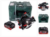 Metabo KS 18 LTX 57 Akku Handkreissäge 18 V 165 x 20 mm ( 601857840 ) + 1x Akku 10,0 Ah + MetaLoc - ohne Ladegerät
