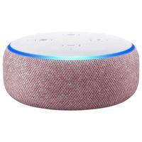 Amazon Echo Dot 3.Generation intelligenter Lautsprecher Alexa Lila Stoff