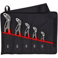 Knipex Cobra®-Set Wasserpumpenzangen-Set Kult Tasche 5-teilig 00 19 55 S5