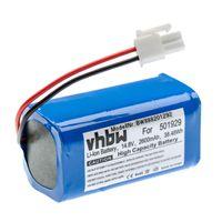 vhbw Akku kompatibel mit Zaco A4s, A6, A8s, A9s Staubsauger Home Cleaner Heimroboter (2600mAh, 14,8V, Li-Ion)