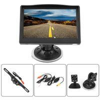Funk Auto TFT Rückfahrkamera Kamera Nachtsicht Mit 5'' Auto LCD Monitor Einparkhilfe System Bus LKW 628*582 für VCD / DVD / GPS / Kamera