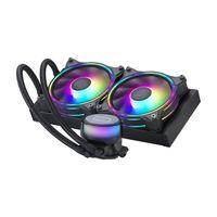 Cooler Master MasterLiquid ML240 Illusion, Prozessor, 6 dB, 30 dB, 10 dB, 3-polig, 2 Lüfter