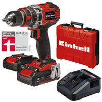 Einhell Power X-Change Akku-Schlagbohrschrauber TE-CD 18/50 Li-i BL (2x2,0Ah)