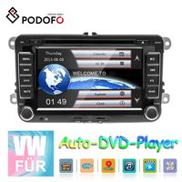 Podofo 2DIN 7Inch Auto-DVD-player GPS Autoradio stereo For VW MattwayT6 Beetle Scirocco Sharan Kaluwei Kadi Amarok Golf