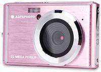 AgfaPhoto DC5200 Kompakte Digitalkamera 21MP CMOS-Sensor 8x Digitaler Zoom, Farbe:Pink