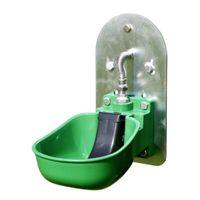 KERBL Tränkebecken Kunststoff KN50 mit Adapterplatte für Weidefassanbau
