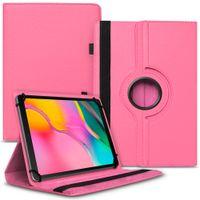 Tablet Hülle für Samsung Galaxy Tab A 10.1 2019 Tasche Schutzhülle Cover Drehbar, Farben:Pink