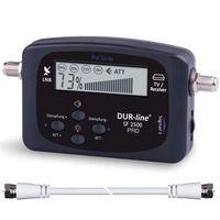 DUR-line Satfinder SF 2500 Pro mit Multifunktionsdisplay