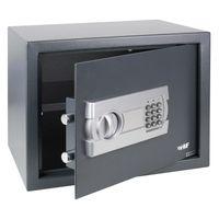 HMF 4612312 Möbeltresor Elektronikschloss, 38 x 30 x 30 cm, anthrazit