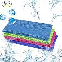 3stk Kühlendes Handtuch Mikrofaser Kühltücher Bequemes Sporthandtuch Funktionstücher für Herren Angeln Laufen Yoga Golf Fitness