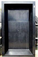 GFK Rechteckbecken (Schwarz) 300 x 180 x 52cm