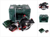 Metabo KS 18 LTX 57 Akku Handkreissäge 18V 165x20mm + 1x Akku 5,5Ah + Ladegerät + MetaLoc