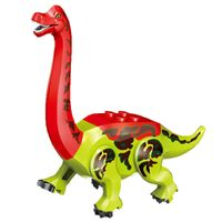 8PCS Dinosaurier Stegosaurus YG77037 Bunter Baukästen DIY Geschenk Dekoration