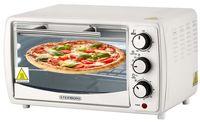 Steinborg Mini Backofen 13 Liter | Pizzaofen | 60°-250°C | Timer | Krümelblech | Kleiner Backofen | Minibackofen | Backofen | 1200 Watt |