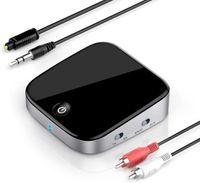 Bluetooth Audio Adapter 5.0 Bluetooth Transmitter Empfänger 2 in 1 Sender Receiver aptX Low Latency mit Digitale Toslink/RCA/3,5mm AUX Kabel für TV Laptop Stereoanlage Kopfhörer Lautsprecher