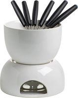 Maxwell & Williams InfusionsT chocolate fondue, ceramic, white, 14 x 14 x 14 cm