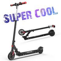 Mini 5.5 Zoll Rad Elektroscooter für Kinder 150W Motor mit 12km Langstrecken Akku, max.18km/h Leichtgewicht, Licht Wasserdicht IP4 reflektierend Aufkleber Rutschfester Lenker, E-Roller,Elektroroller,Electric Scooter