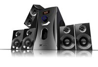 Auvisio Surround-Sound-System 5.1 Home-Theater, 160 Watt, MP3, Radio, schwarz Box Lautsprecher Bassbox TV Fernseher Soundbox Musikbox Heimkino Soundsystem Boxen Subwoofer Music Sound