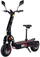 eFlux RS45 Pro E-Scooter mit Zulassung, 45 km/h, 2000 Watt, mit Allrad-Antrieb, Sitz, klappbar (Schwarz)