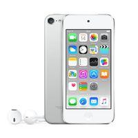 Apple iPod touch 128GB, MP4-Player, 128 GB, Lightning, Integrierte Kamera, Silber, Kopfhörer enthalten