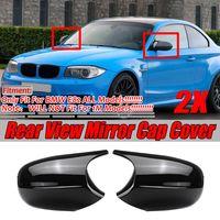 M3 Stil Spiegelkappe Gehäuse ERSATZ Glanz Schwarz für BMW E90 E91 E92 E93 DE