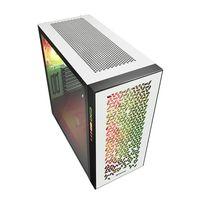 Sharkoon ELITE SHARK CA300H - Tower - PC - Weiß - ATX - EATX - micro ATX - Mini-ITX - Rot/Grün/Blau - Taschenlüfter