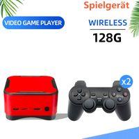 Aktuelle Mini-Retro-Arcade-Spielkonsole PS1/ FC Spielkonsole /4K HD Videospielkonsole/ 128G1000 Spielbox/ Haus TV /PC /MP5-Player