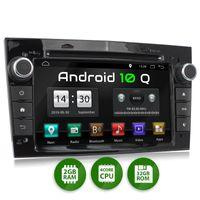XOMAX XM-D04LA: 2DIN Autoradio mit Android 10 Navi 7 Zoll Touchscreen Monitor, Bluetooth, DVD, CD, SD und USB (passend für OPEL)