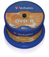 Verbatim DVD-R 16x 50er Spindel