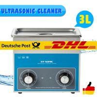 GT Sonic 3L Ultraschallreinigungsgerät Ultraschallreiniger Reinigungsgerät Professionelle Reinigung 100W Heizung Timer EU