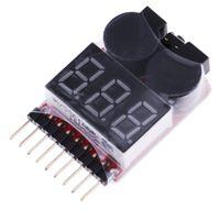 Lipo Batteriespannungstester Niederspannungssummer  BX100 Batterietester