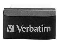 Verbatim Store `n` Stay USB Drive - USB-Flash-Laufwerk - 16 GB - USB 2.0 - Schwarz