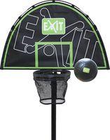 EXIT Basketballkorb für Trampolin + Mini Schaumball Ø15cm