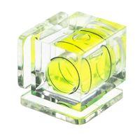 vhbw Blitzschuh-Wasserwaage kompatibel mit Nikon D3500, D4, D40, D40x, D50, D5100, D5200, D5300, D5500 Kamera - Blitzschuh-Abdeckung, 1 Achse