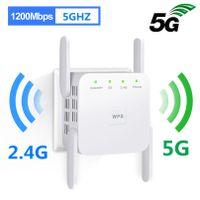 WiFi Range Extender Repeater 5G 1200 Mbit / s Router WLAN Verstärker Wireless WLAN Signalverstärker Signal Booster