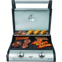 STEBA VG 500 Premium BBQ-Tischgrill Edelstahl