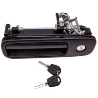 Heckklappengriff mit Schloss + 2x Schlüssel für VW Golf 3 4 Polo 1J6827565B
