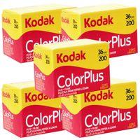1 x Kodak Colorplus Farbfilm je 36 Aufnahmen