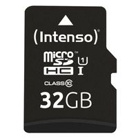 Intenso 32 GB microSDHC Speicherkarte  UHS-I Premium inkl. SD-Adapter
