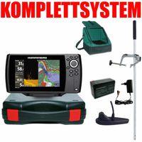 Humminbird Helix 7 Chirp GPS Mega DI G3 Down Imaging GPS Kartenplotter Echolot Portabel Master Edition Plus – Komplettsystem