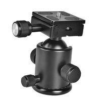 KS-1 Alle Metall Kugelkopf mit Schnellwechselplatte Kamera Zubehör DSLR Aluminium