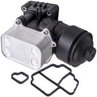 Ölfiltergehäuse Ölkühler für VW Golf Tiguan Caddy Audi Q3 1.6 2.0 TDI 03L115389C
