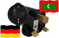 Urlaubsstecker Malediven für Geräte aus Deutschland